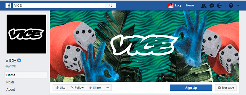 vice Facebook cover