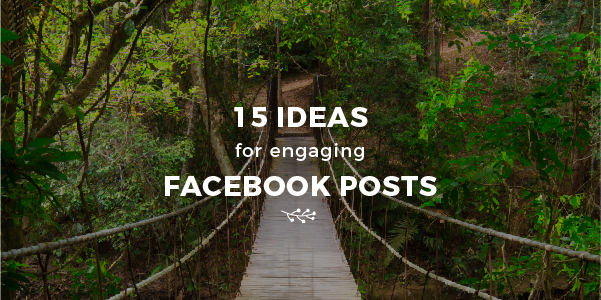 15 types of facebook posts