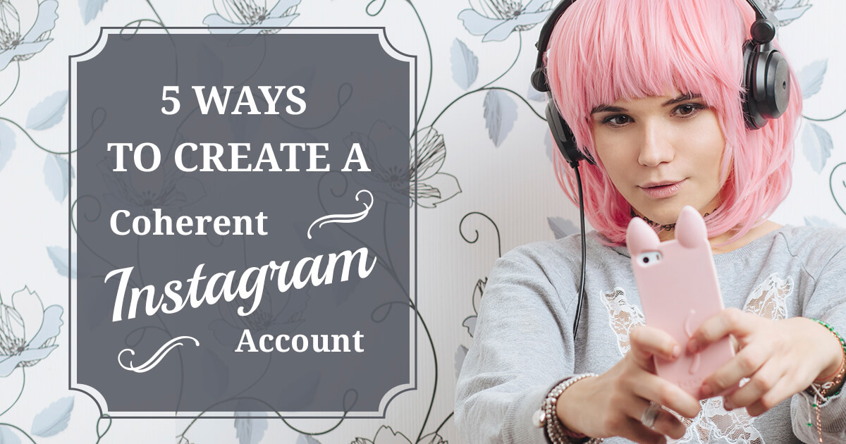 create amazing instagram feed
