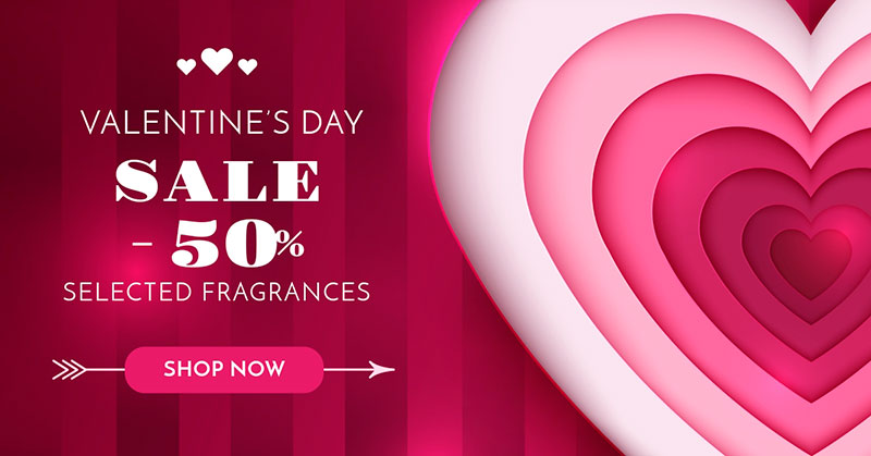 free Facebook ad template for valentine's day