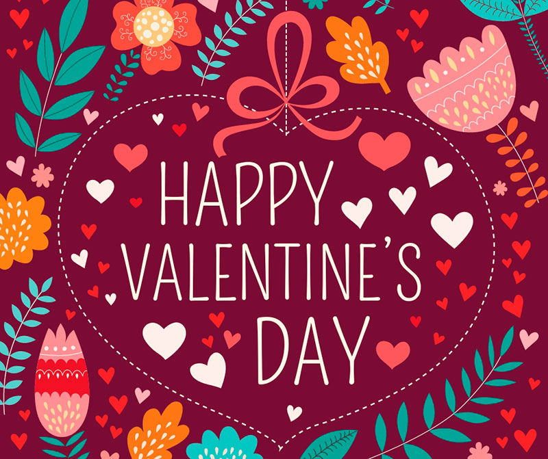 free Facebook post template valentine's day