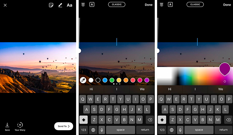 instagram colors use