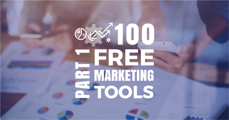 100 Free Tools to Do Your Own Marketing. Part 1