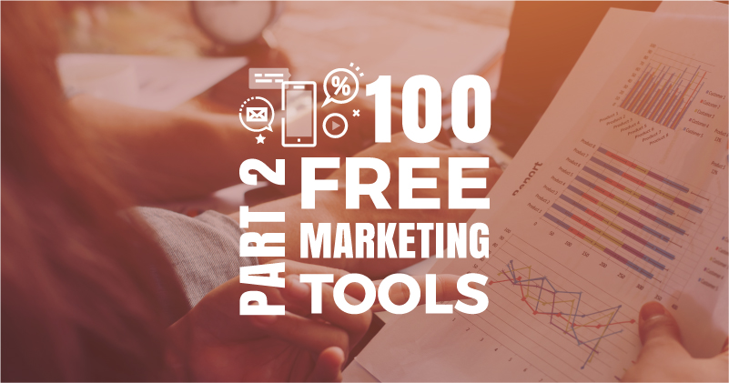 100 Free Tools to Do Your Own Marketing. Part 2
