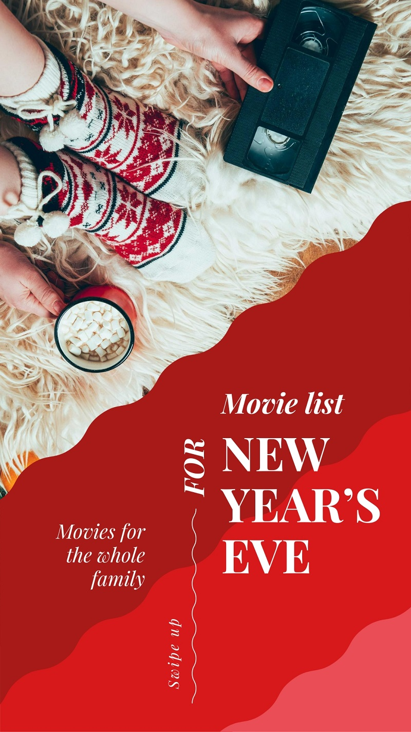 free instagram story template for 2019 red home cozy