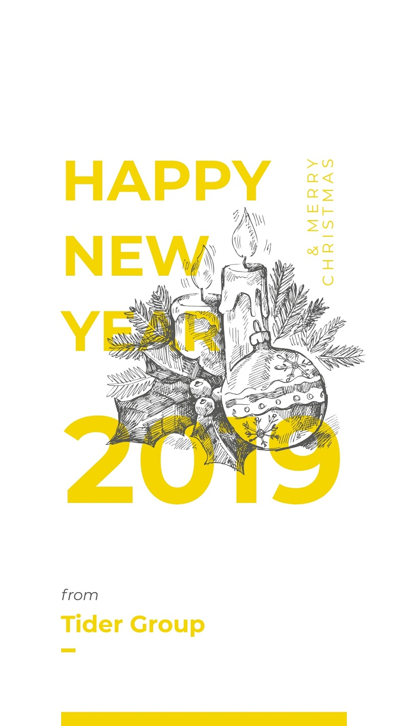 happy new year template for instagram stories 2019 holidays free online editor