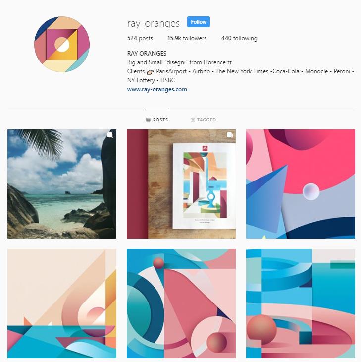 Ray Oranges Instagram