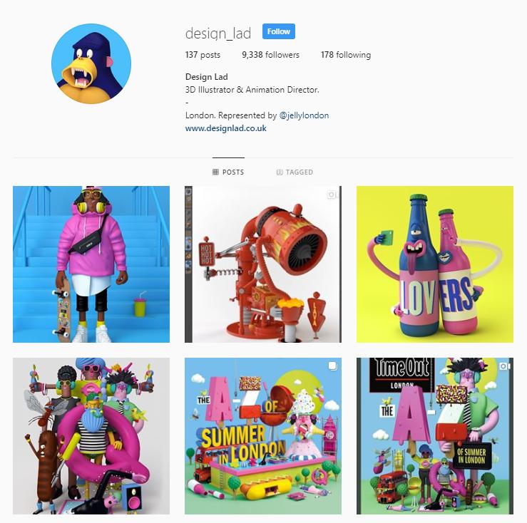 Design Lad Instagram
