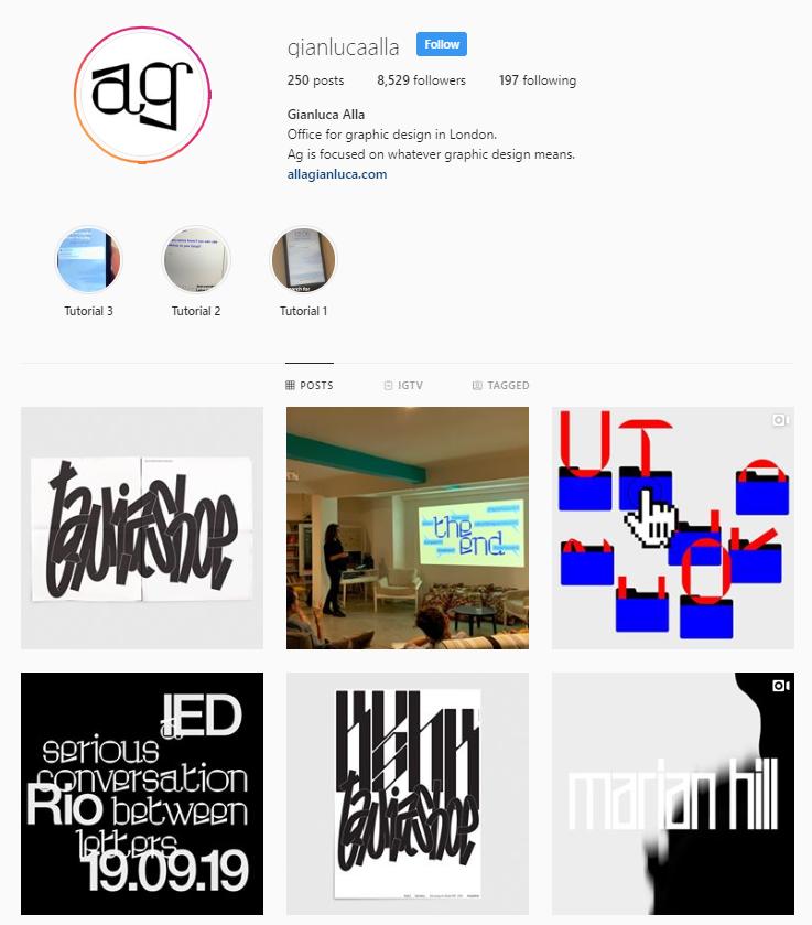 Gianluca Alla Instagram