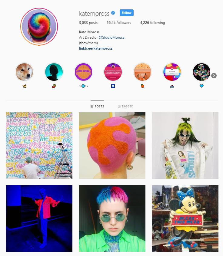 Kate Moross Instagram