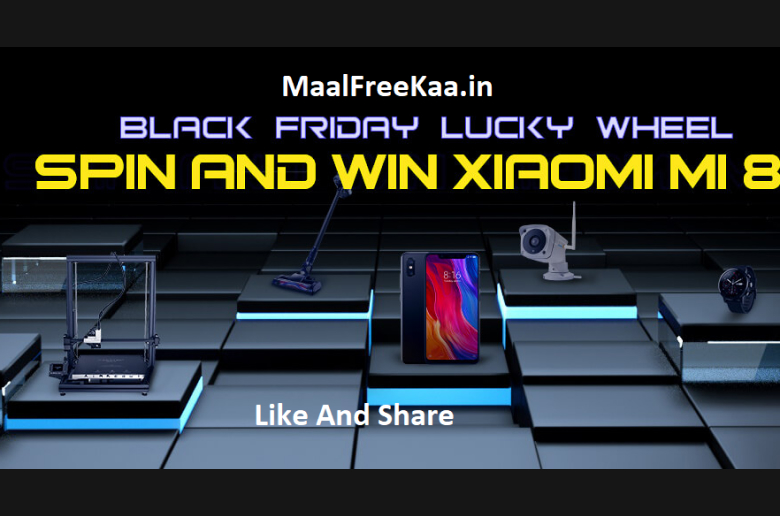 Black Friday Spin Roulette and Win 3