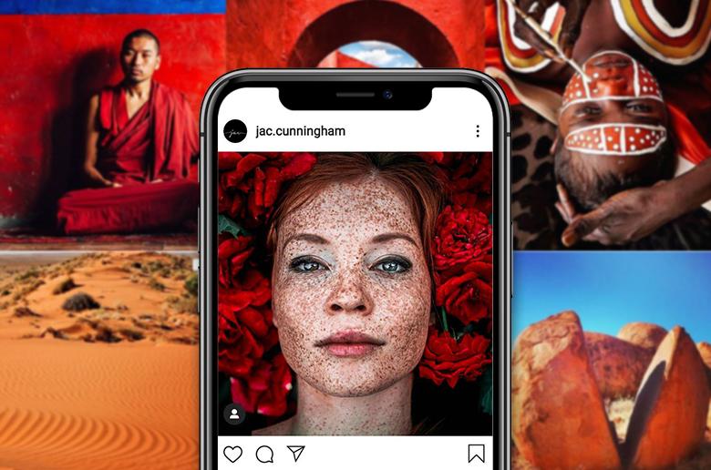 Create Instagram Grid