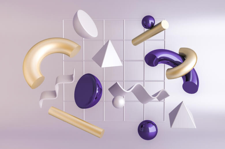 Abstract shapes by Depositphotos