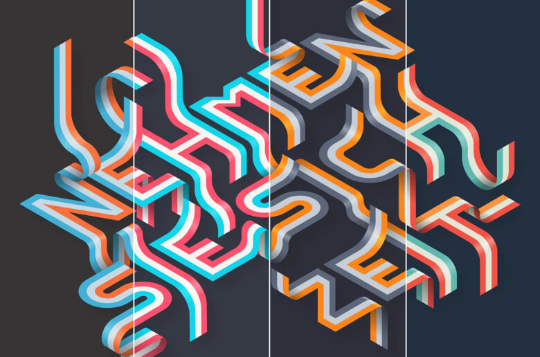 Isometric projections by https://www.behance.net/DM2graphics