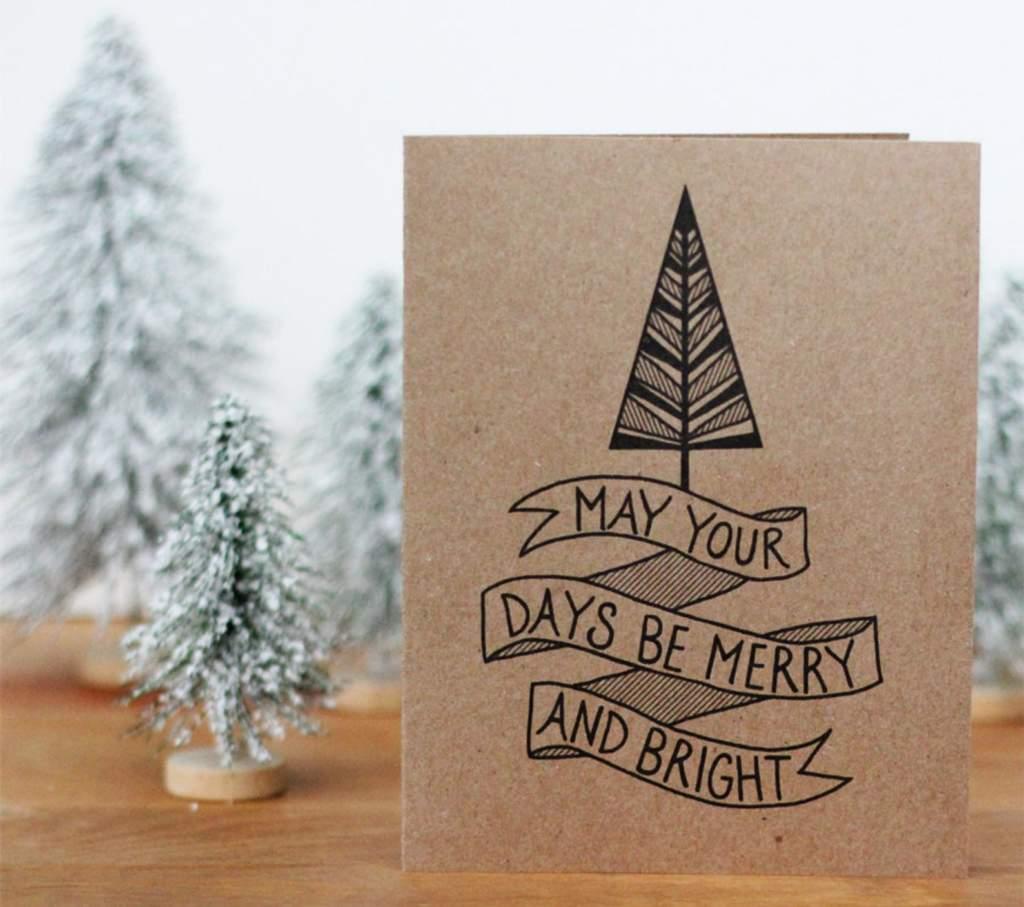 Christmas card design ideas