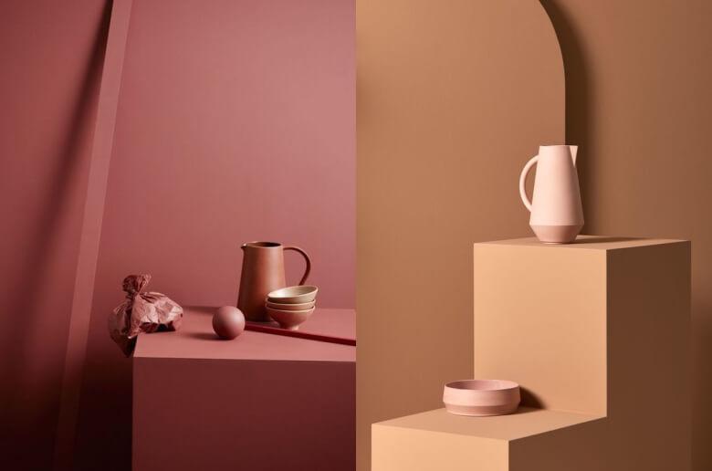 Monochrome color palettes by Kråkvik & D'Orazio
