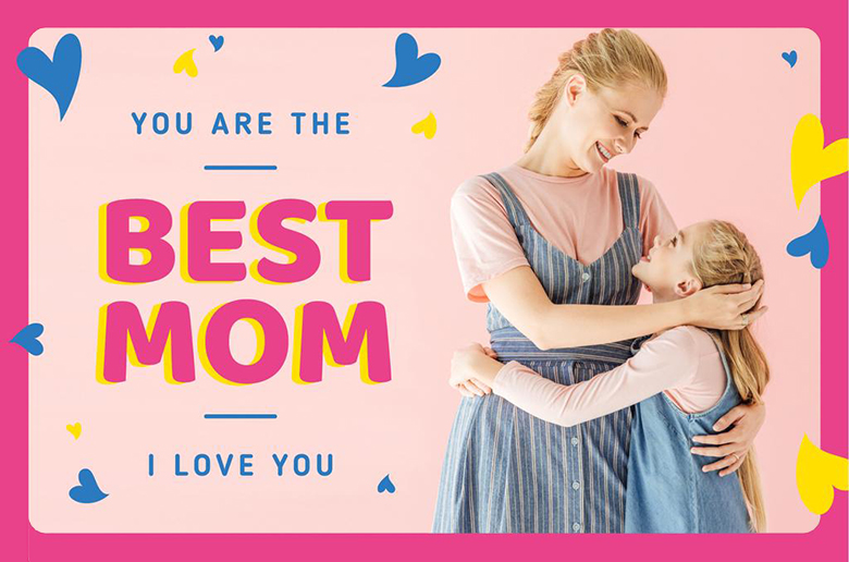 vday card for moms