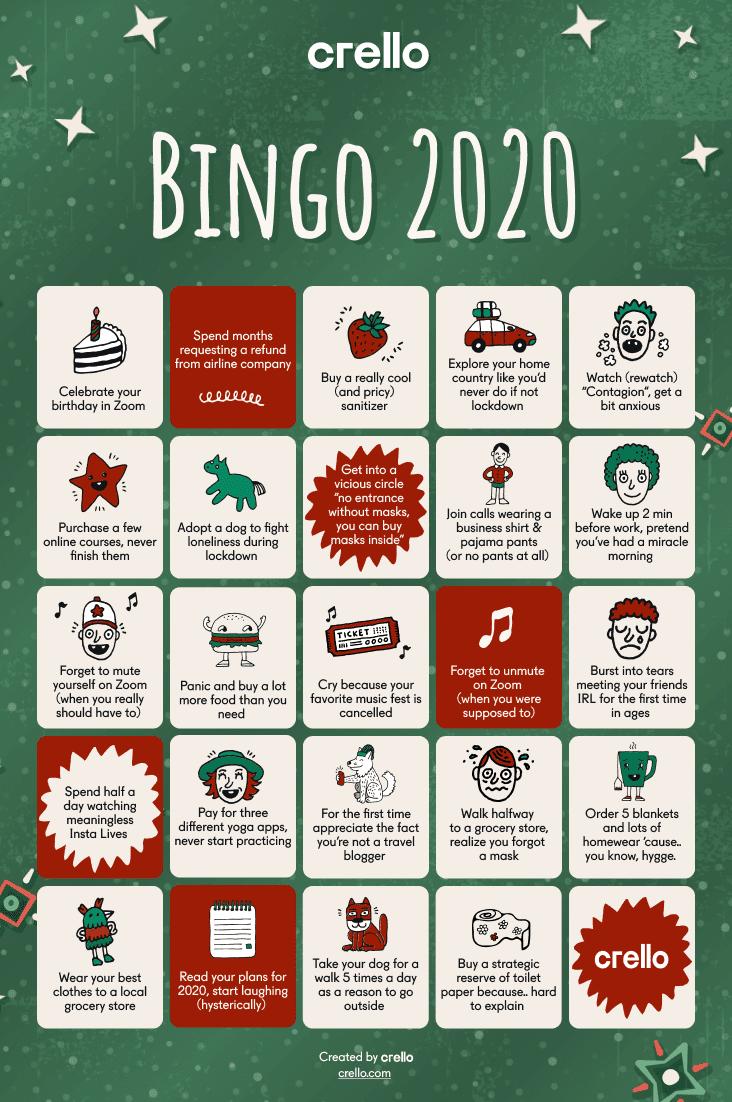 Crello bingo