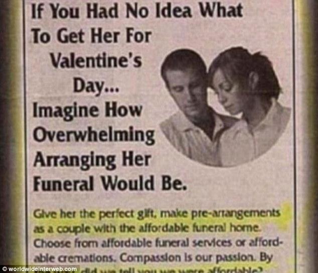 VПлохие идеи ко Дню святого Валентина