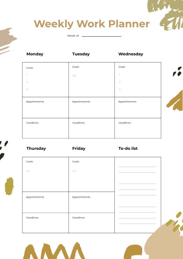Schedule Planner 3