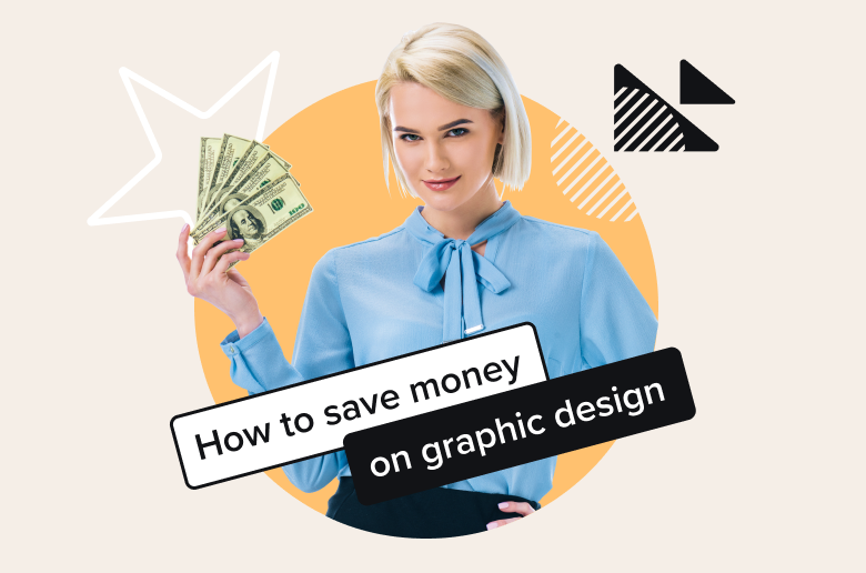 By using graphic design software for small businesses or leveraging on the freelance graphic designer market, you can get good designs even when you only have a small budget.