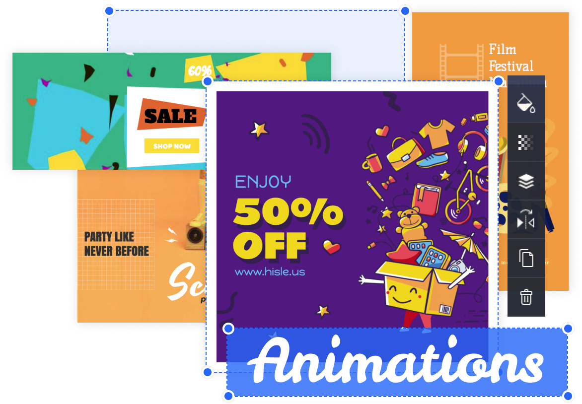animated instagram stories examples