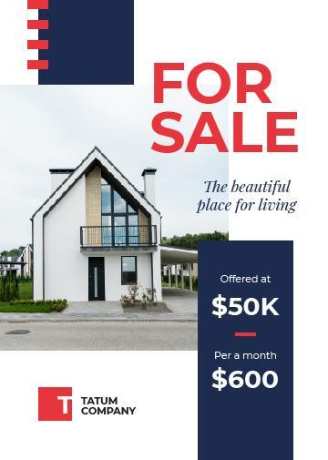 Real Estate Ad Cozy House Facade