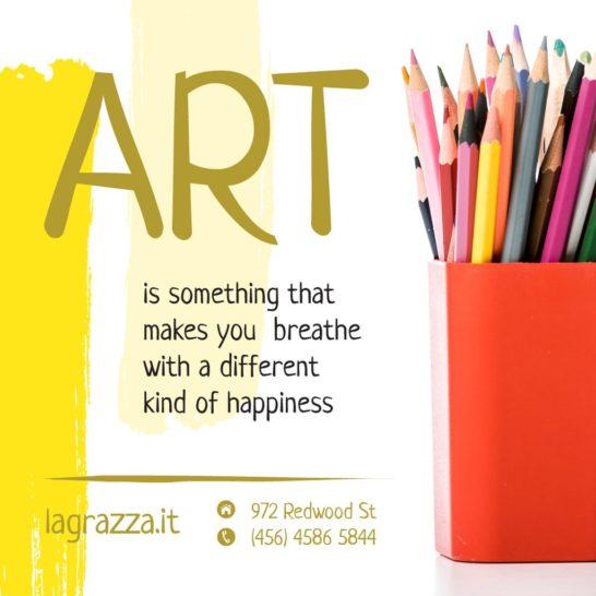 Art Supplies Sale Colorful Pencils