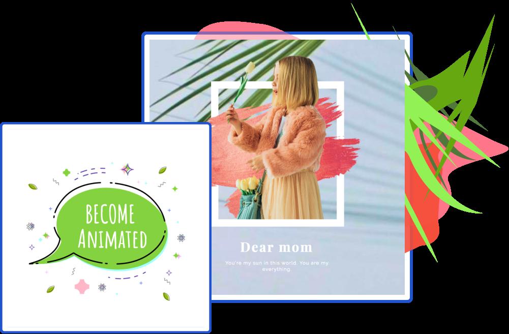 παραδείγματα με κινούμενη διαφήμιση στο instagram
