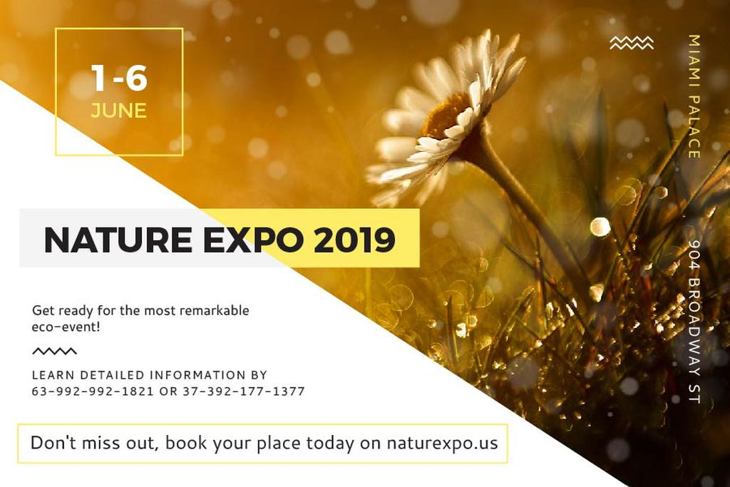 Nature Expo Annoucement