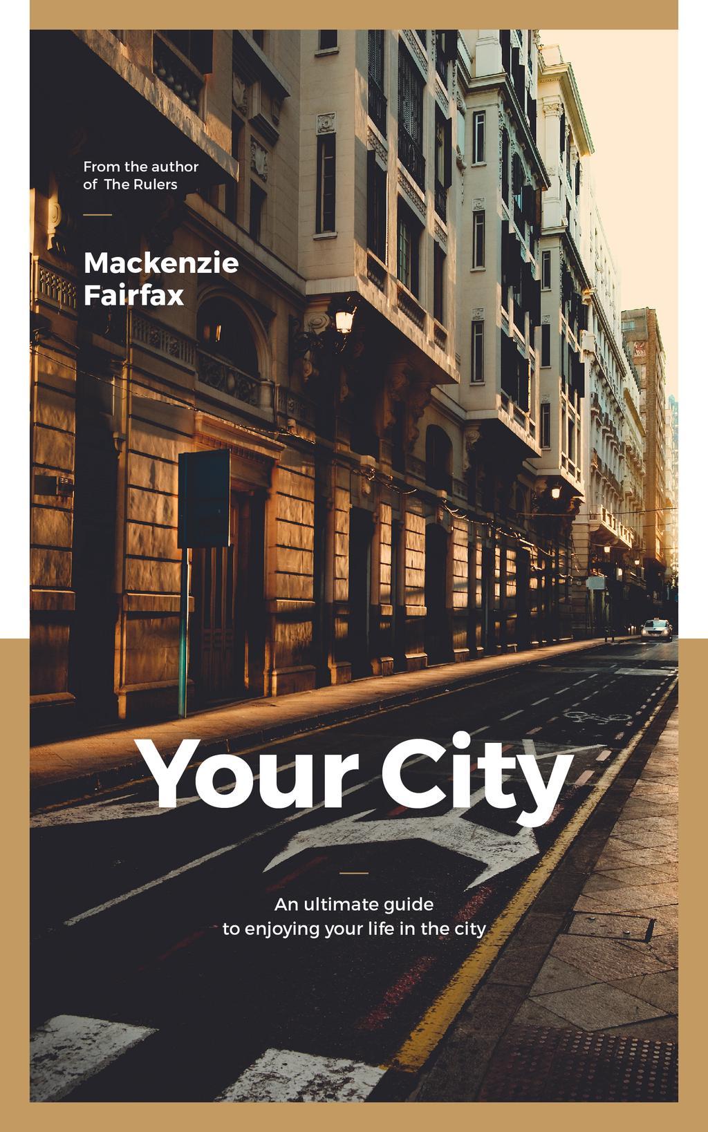 City Guide Narrow Street View