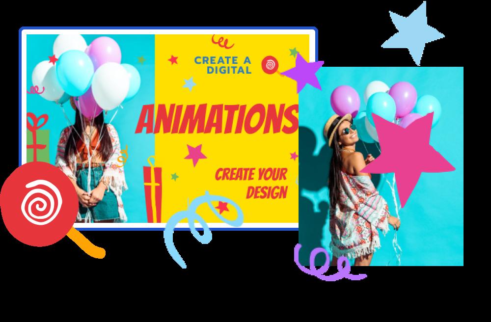 exemples de chèques-cadeaux animés