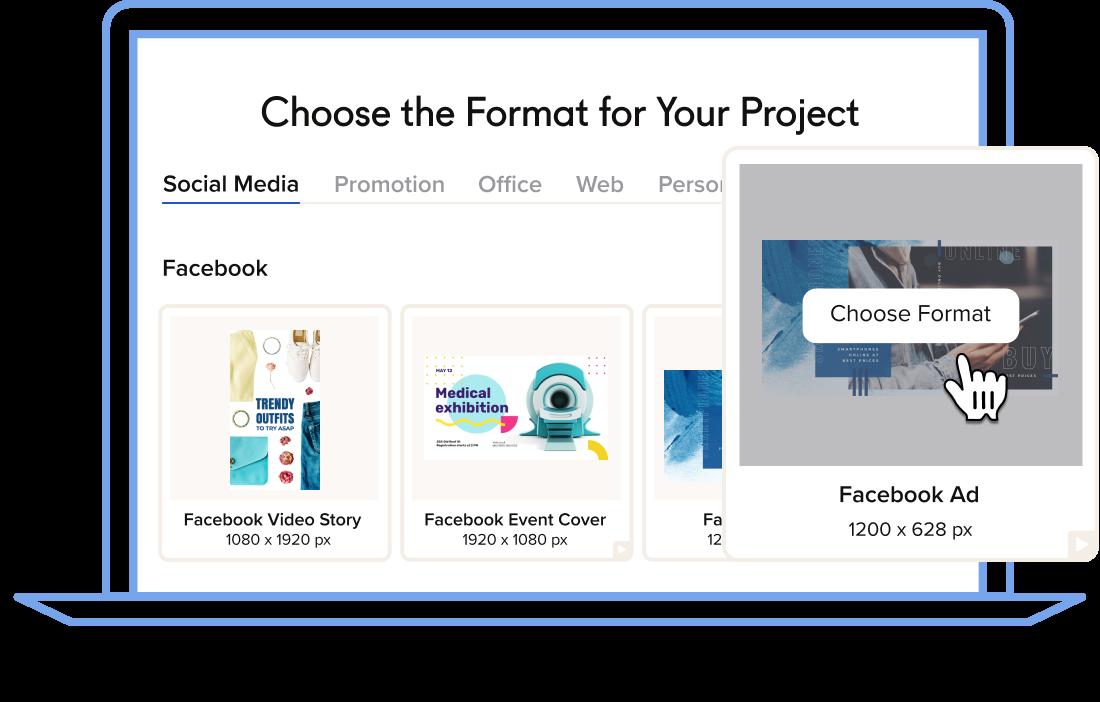 format seçin