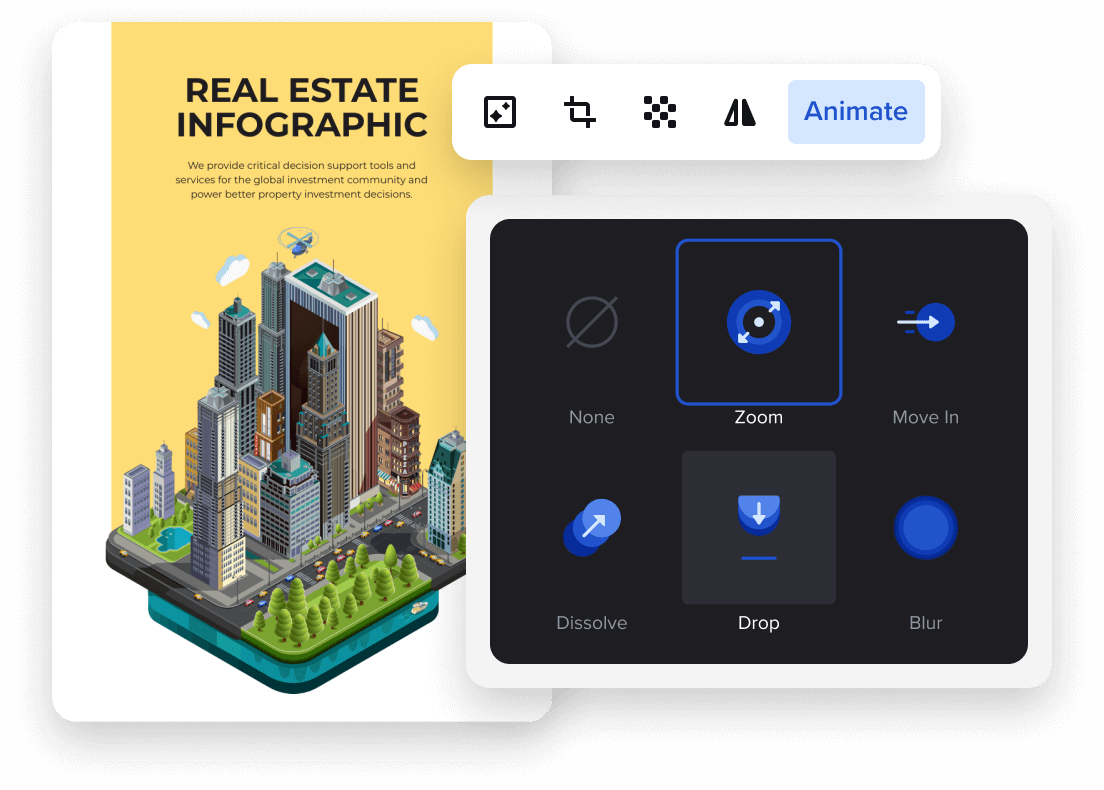 animate your infographics