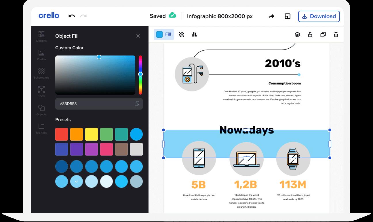 customize design