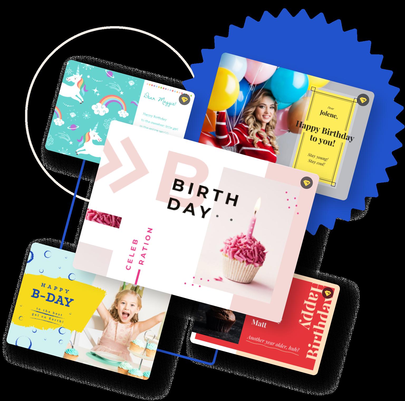 Birthday Card Maker Create Custom Bday Cards Online Free Crello
