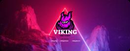 Viking illustration on Cosmic Rocks landscape