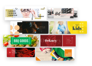 banner templates library