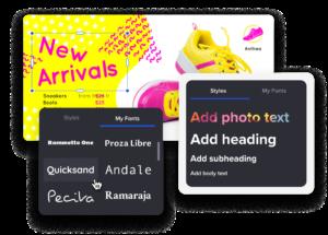 raccolta di font personalizzati