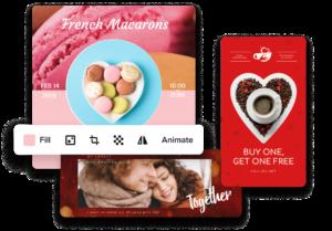 simple valentines greeting card