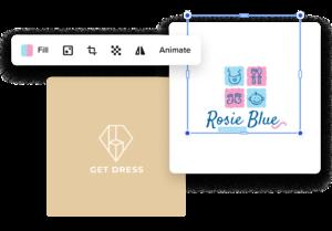 crear un logotipo de ropa