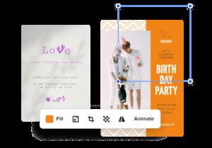 create birthday poster online