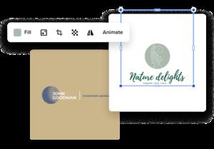 create circle logo online