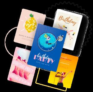 make birthday poster