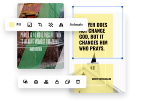 create church flyers online