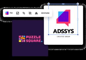 create typography logo online