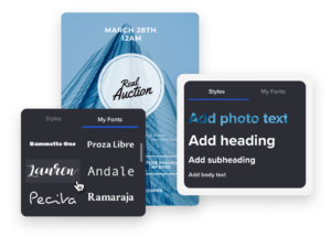 fonts for business flyers designs