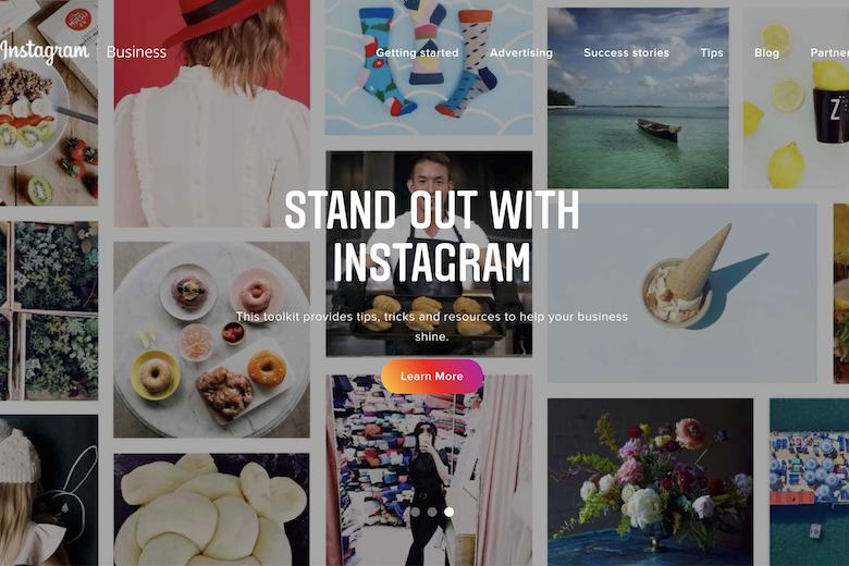 instagram business title